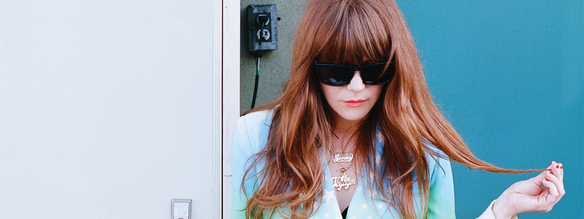 Jenny Lewis with Olivia Jean