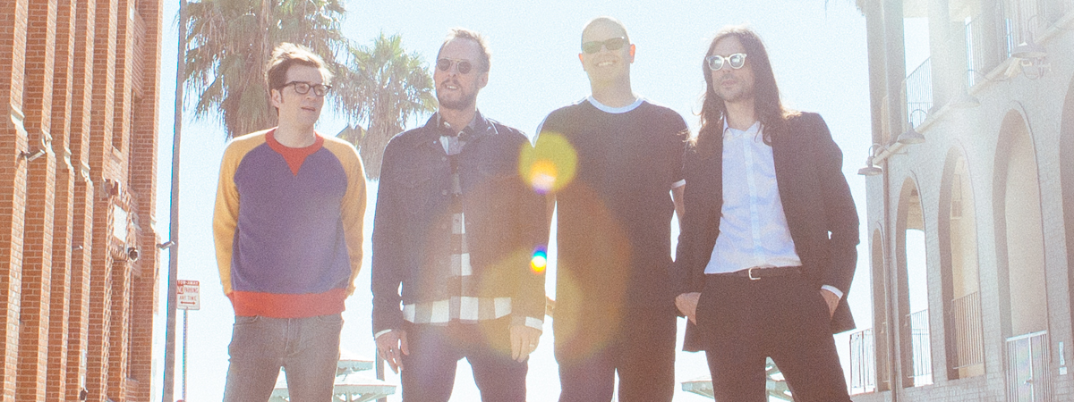 X102.9 presents Weezer with guest The Pauses