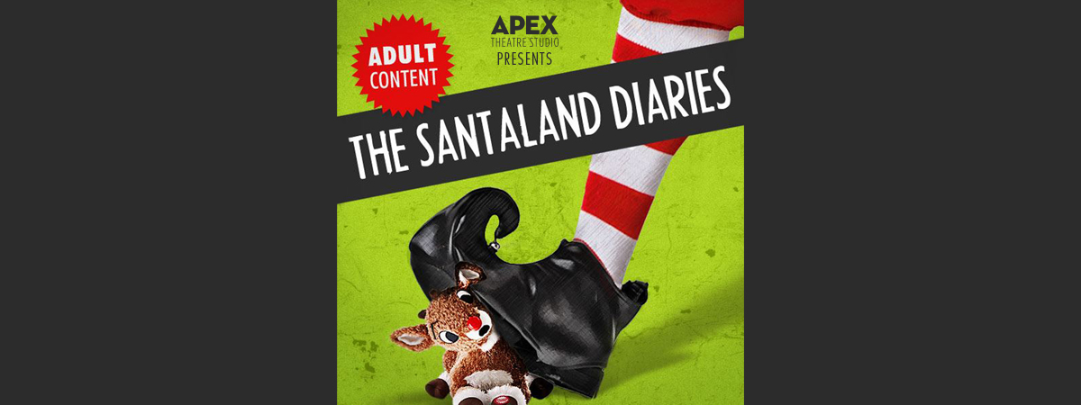 Apex Theatre presents 'The Santaland Diaries' with musical guest Duffy Bishop