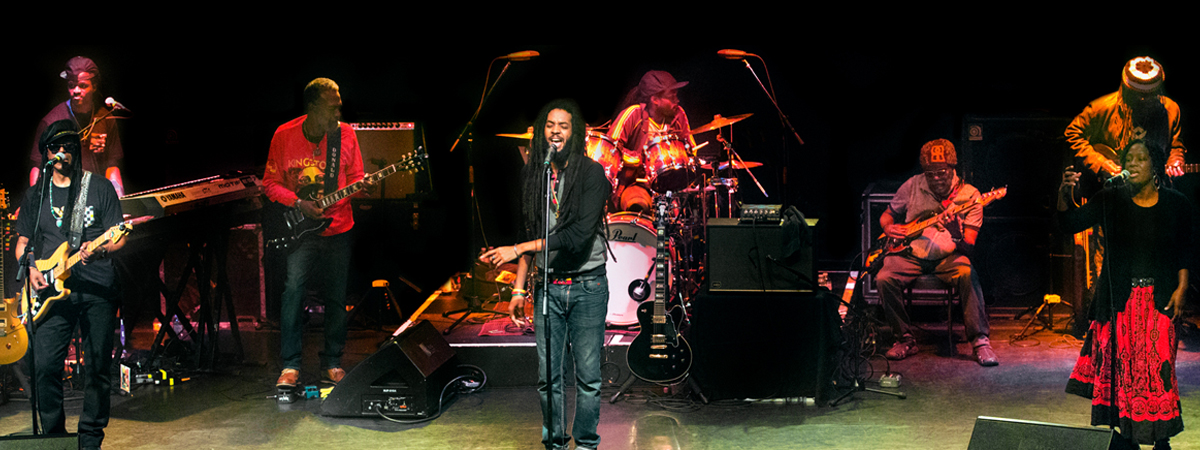 The Wailers – playing Bob Marley's Legend with guest Reggae Force Band