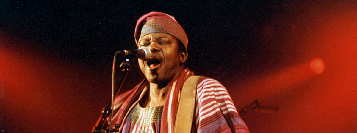 King Sunny Ade & His African Beats - CANCELLED