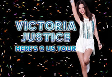 Victoria Justice  'Here's 2 Us Tour'