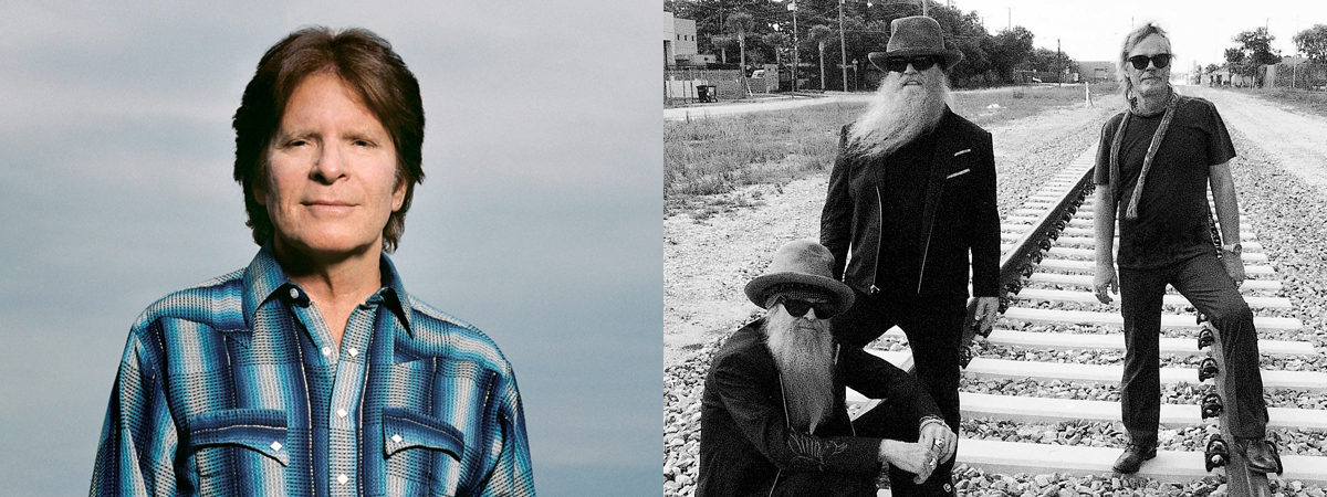 "John Fogerty and ZZ Top ""Blues and Bayous Tour"" with guest Ryan Kinder"