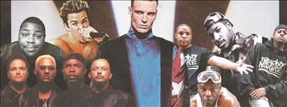 I Love the 90s Tour featuring Vanilla Ice, Naughty By Nature, Sugar Ray's Mark McGrath, Biz Markie, All-4-One and Young MC