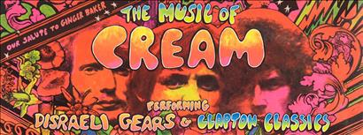 The Music of Cream – Disraeli Gears Tour & Clapton Classics
