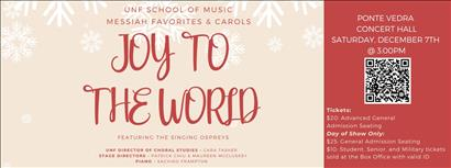 Joy to the World: Messiah Favorites and Holiday Carols